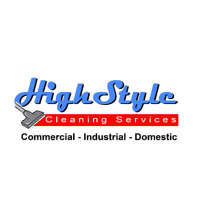 High style cleaning services logo