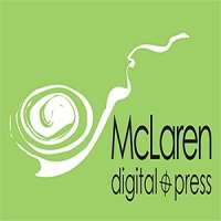 MCLAREN DIGITAL PRESS logo