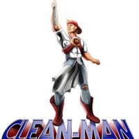 Clean Man logo