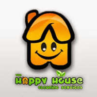 The Happy House Cleaning logo