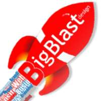 Big Blast Design logo