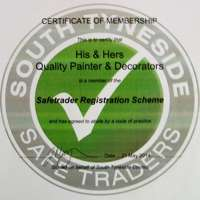His and Hers Quality Painters and Decorators logo