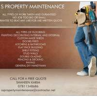Ss property maintenance  logo