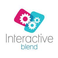 interactive blend  logo