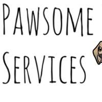 Pawsome Pet Services logo