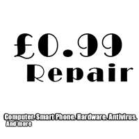 99p Computer and Mobile Repair Services logo