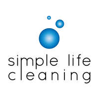 Simple life cleaning  logo