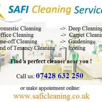 safi cleaning service LTD logo