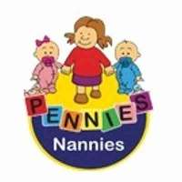 Pennies Nannies logo