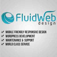 Fluid Web Design logo