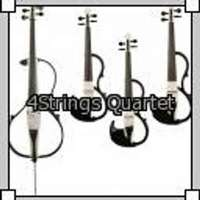 The 4Strings Quartet logo