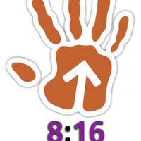 8:16 logo