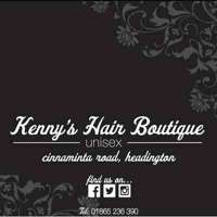 kennys hair boutique logo