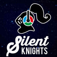 Silent Knights Silent Disco logo