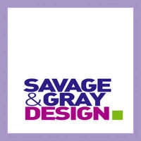 Savage and Gray Design logo