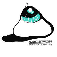 Mark My Words Screen Printing logo