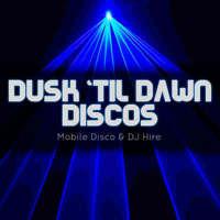 Dusk 'til Dawn - Mobile Disco & DJ Hire logo