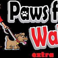 Paws for Walk logo