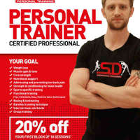 SD Personal Training logo