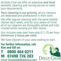 Dolly Char Tunbridge Domestic Cleaning Agency
