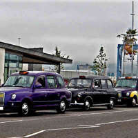 Bracklesham Taxis logo