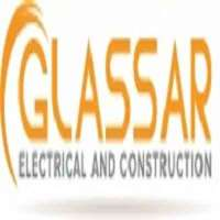 Glassar electrical and construction logo