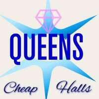 Queens Cheap Halls logo