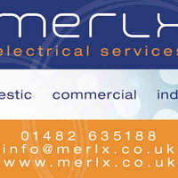 Merlx Electrical Services, Hull logo