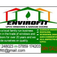 ENVIROFIT UPVC WINDOWS AND GARAGE DOORS logo