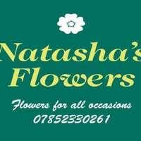 Natashas flowers logo