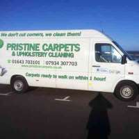 Pristine carpet & upholstery cleaning logo