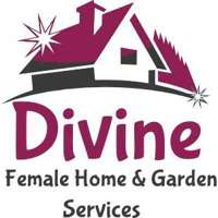 Divine female home and garden services logo