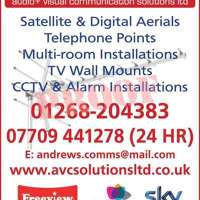 Andrews audio + visual communications solutions ltd logo