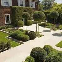 garden landscaping logo