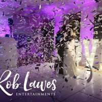 Rob Lawes entertainments  logo