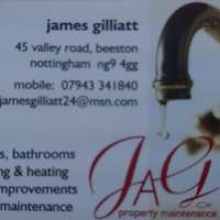 J.A.G. Property Maintenance  logo