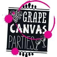 Grape Canvas Parties | Traveling Paint Parties logo