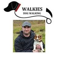 Walkies Dog Walking  logo