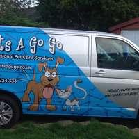 Pets a go go  logo