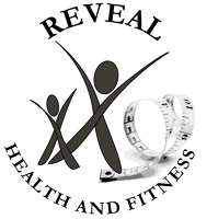 Reveal health and fitness logo