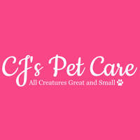 CJ's Pet Care logo