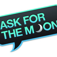 Ask for the Moon logo