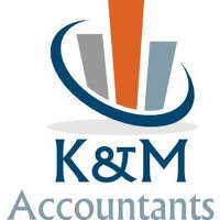 K & M Accountants logo