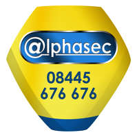 Alphasec logo