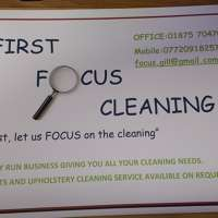 First Focus cleaning services
