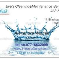 Eva's Cleaning&Maintenance Services Ltd- Aqua!