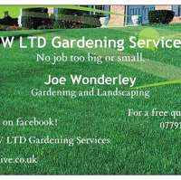 JW LTD Gardening Services  logo