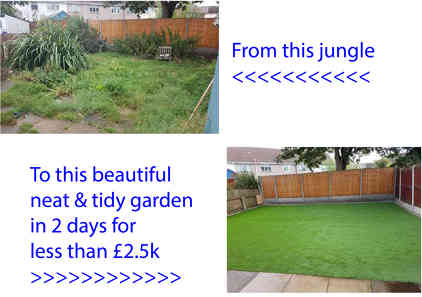 Photo by Artificial Grass UK / Wirral Flagging/ Composite Decking