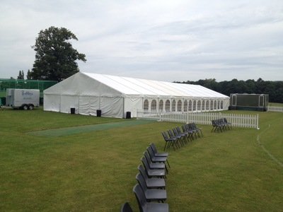 Photo by Brooks marquee hire