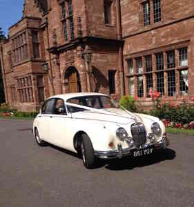 Photo by classic wedding cars cheshire